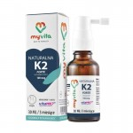 Vitamin K2 FORTE mk-7 with Natto - natural -  (30ml) Liquid drops MyVita