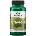 Graviola 530mg (60 caps.) SWANSON protects the body against bacteria
