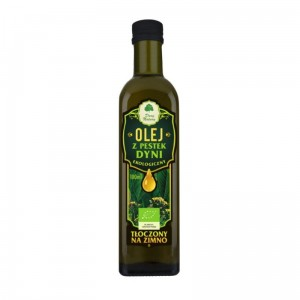 Pumpkin Seeds Oil BIO 100ml (cold pressed) - Dary Natury from Poland