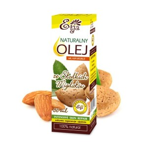Oil with Sweet Almonds Natural 100% from Italy 50ml -  ETJA