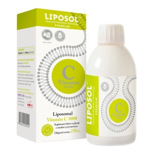 Liposol C 1000 Liposomal Vitamin C 1000 (Buffered) 250ml LEMON Taste Aliness
