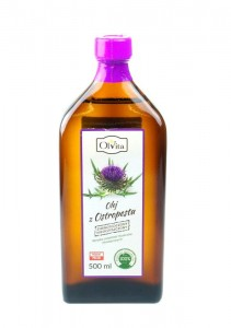 Oil of Milk Thistle 500ml - cold pressed - OLVITA Poland