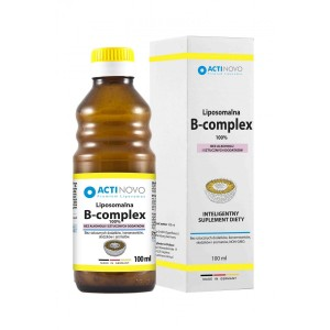 LIPOSOMAL B Complex (100ml / 250ml) without Alcohol - ACTINOVO Germany