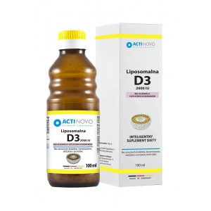 LIPOSOMAL Vitamin D3 2000iu (100/250ml) without Alcohol - ACTINOVO Germany