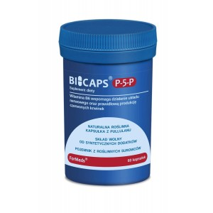 BICAPS® P-5-P Vitamin B6 Pyridoxine 25mg (60 caps.) FORMEDS Poland
