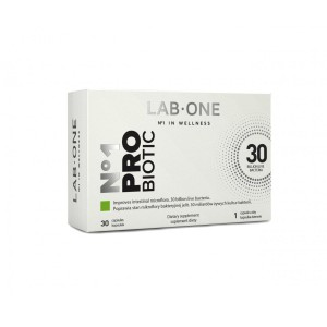 No-1 Probiotic 30 billion 30 strain probiotics (30 caps.) Lab One