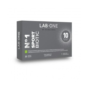No-1-Sportbiotic 10 billion Probiotic for Athletes (30 caps.) Lab One