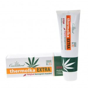 Thermolka EXTRA Heating Gel for Muscle and Joint Pain (150ml) Cannaderm