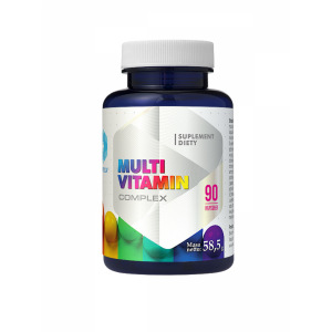Multivitamin Complex Vitamins and Minerals Complex (90 caps.) Hepatica
