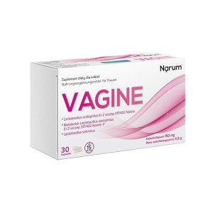 Vagine 150mg (30 caps.) Probiotic Metabiotic for Women Narine Narum