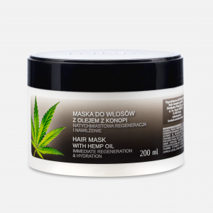 Hair Mask with Hemp Oil (200ml) India Cosmetics Poland