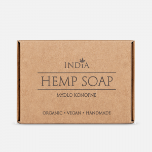 Hemp Soap wit Hemp Oil (90g) India Cosmetics Poland