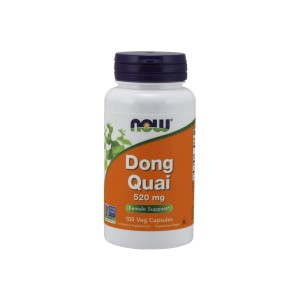 Dong Quai 520 mg (100 caps) Chinese Angelica Now Foods