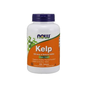 Kelp 150 mcg (200 tab) Natural Iodine Now Foods