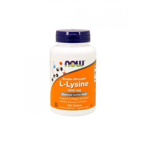 L-Lysine 1000 mg (100 tab) Amino acids Now Foods