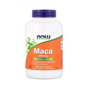 Maca root 500 mg (250 caps) Libido Now Foods