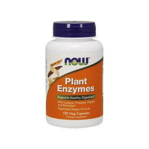 Plant Enzymes Plant Digestive Enzymes (120 caps) Now Foods