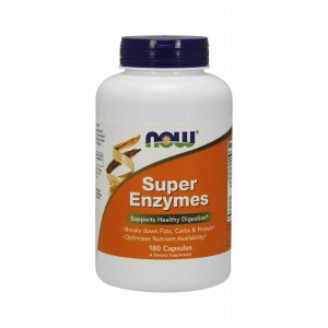 Super Enzymes Digestive Enzymes (90caps) Now Foods