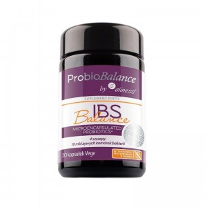 "ProbioBalance IBS Balance 10 billion. ""probiotic"" (30 vege caps.) Aliness Poland"