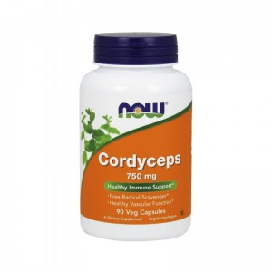 Cordyceps 750mg 90 Veg Caps. Healthy Immune Support - Now Foods