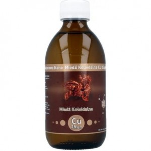 Non-ionic Nano Copper Colloidal (CU 25 PPM) 300ml  - Vitacolloids Poland