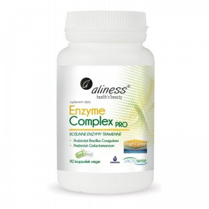 "Enzyme Complex PRO (90 vege caps.) ""digestive enzymes"" Aliness"