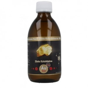 Non-ionic Nano Gold Colloidal (AU 500 - 50PPM) 300ml Vitacolloids