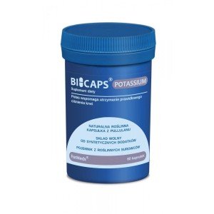 BICAPS Potassium Citrate 360mg - No Chemical Additives - (60 caps.) ForMeds Poland