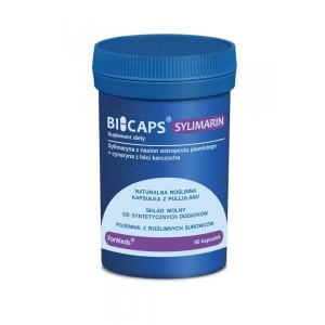 BICAPS  SYLIMARIN from Seeds of Milk Thistle + Cynarine from Artichoke Leaves  (60caps.) ForMeds Poland