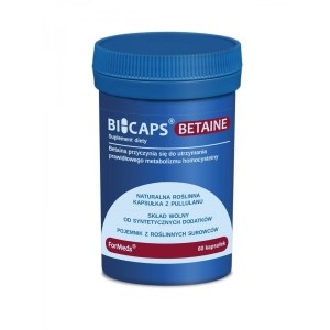 BICAPS BETAINE HCL 660mg - digestive system - (60 caps.) ForMeds Poland