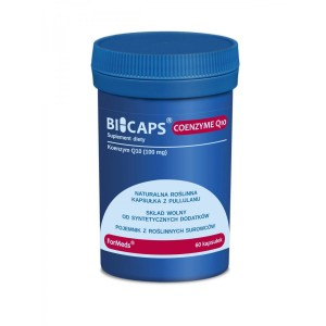 BICAPS Coenzyme Q10 Ubichinon 100mg - depression - (60 caps.) ForMeds Poland