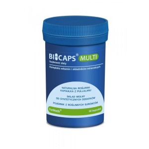 BICAPS Multi Vitamins and Minerals (60 caps.) ForMeds Poland