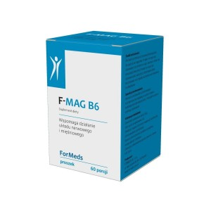 F-MAG B6 Magnesium Citrate + Vitamin B6 Powder (51g) - 60 servings - ForMeds Poland