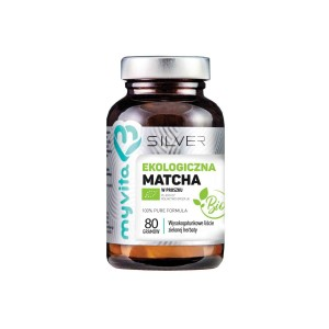 Tea Ecological Matcha 100% Leaves 80g BIO SILVER MyVita Poland