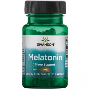 Melatonin 3 mg (120 caps.) SWANSON