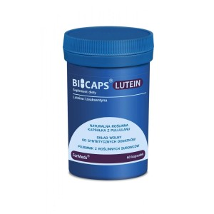 BICAPS Lutein 20mg Zeaxantin 2mg Eye Vision (60 caps.) FORMEDS Poland
