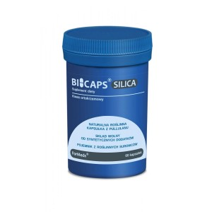 BICAPS Silica (ORTO-SILICIDE ACID + CHEMIERS) 50mg (60 caps.) FORMEDS Poland