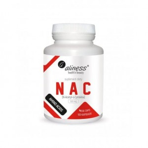 NAC N-ACETYL-L-CYSTEINE 500 MG (100 CAPS) AMINO ACIDS ALINESS