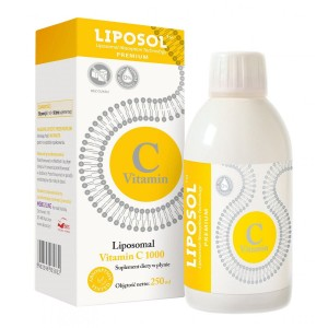 Liposomal Vitamin C 1000mg Liquid 250ml Liposol Aliness from Poland
