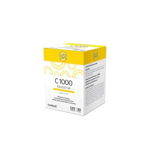 LIPOCAPS C 1000mg Vitamin C Liposomal in Capsules (120 caps.) (30 servings)FORMEDS Poland