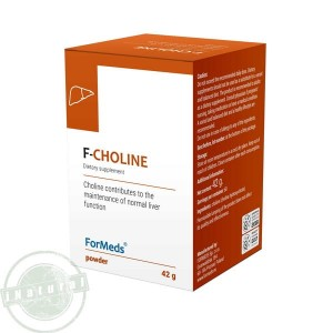 F-CHOLINE Vitamin B4 powder 42g (60 servings) FORMEDS Poland