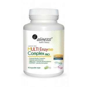 "Multi Enzyme Complex PRO (90 vege caps.)  ""digestive enzymes"" Aliness"