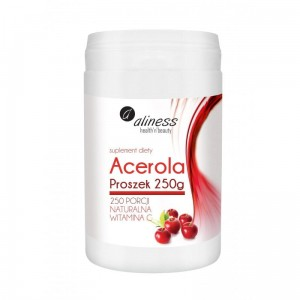 Acerola Powder 250 g Natural Vitamin C Aliness