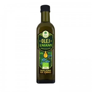 Flax Oil BIO 100ml (cold pressed) - Dary Natury from Poland